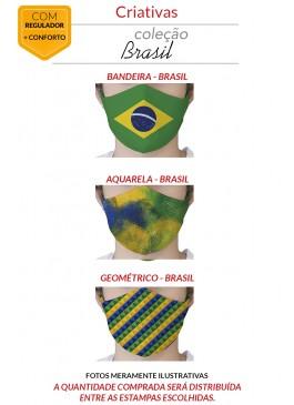 MÁSCARA DE PROTEÇÃO PREMIUM - BRASIL