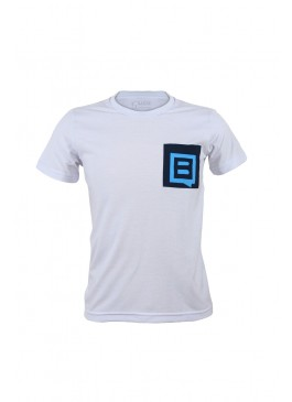CAMISETA CASUAL COM BOLSO BLUE